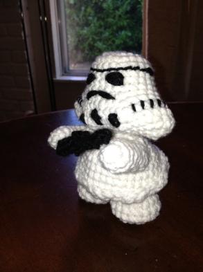 Stormtrooper inspired figure