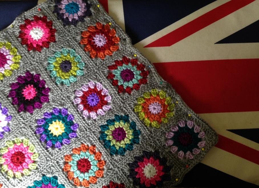 mosaic cushion pinned